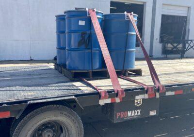 Small load hot shot trailer